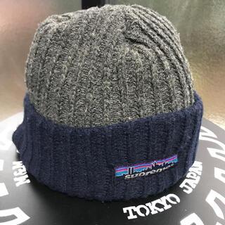 シュプリーム(Supreme)のsupreme ニットキャップ パタゴニアロゴ Patagonia(ニット帽/ビーニー)