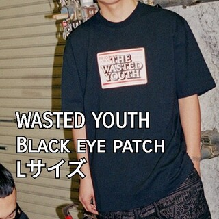 WASTED YOUTH × Black eye patch Tシャツ L