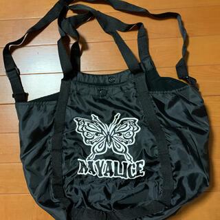 レイアリス(Rayalice)のレイアリス バッグ 黒 肩掛けあり(トートバッグ)