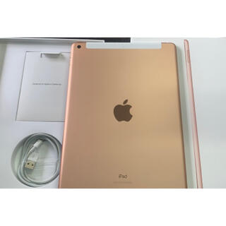 iPad - 【美品】10.2 iPad 第7世代 32GB ローズゴールド MW6D2J/A