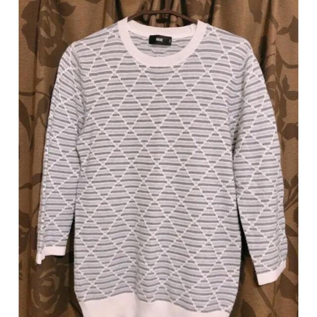 HARE(ハレ)の値下げ❗️春夏秋兼用セーター HARE メンズのトップス(ニット/セーター)の商品写真