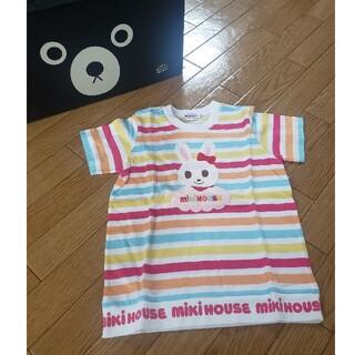 ミキハウス(mikihouse)の【新品タグ付】ミキハウス 半袖Tシャツ 110サイズ(Tシャツ/カットソー)