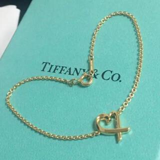 Tiffany & Co. - 新品未使用★ ティファニー 750 K18YG ブレスレット