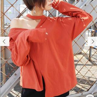 エモダ(EMODA)のカットドッキングロンT EMODA(Tシャツ(長袖/七分))