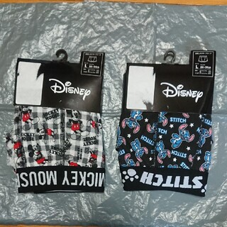 ディズニー(Disney)のミッキーマウス スティッチ ボクサーパンツ(ボクサーパンツ)