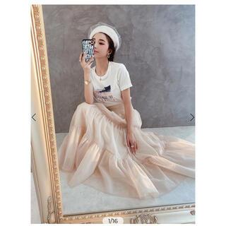 eimy istoire - eimy♡チュールボリュームスカート♡フリーサイズ♡