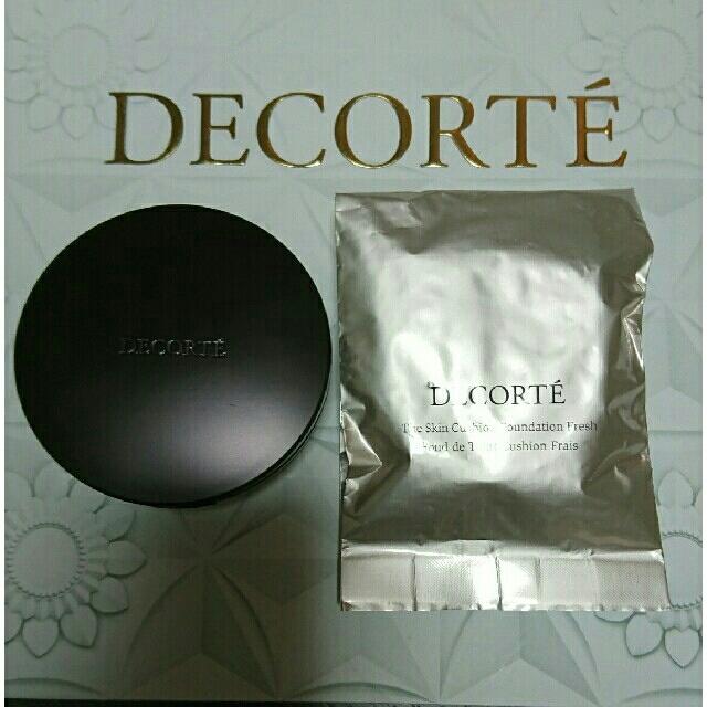 COSME DECORTE(コスメデコルテ)の新品☆コスメデコルテクッションファンデーションセット コスメ/美容のベースメイク/化粧品(ファンデーション)の商品写真