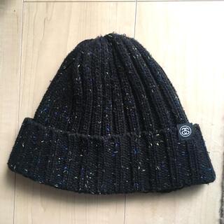 STUSSY - STUSSY ステューシー ニット帽 ブラック