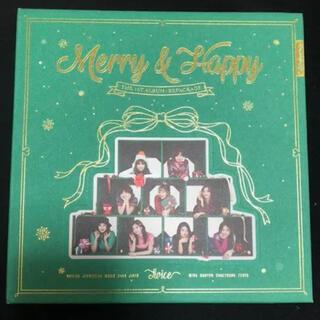 ウェストトゥワイス(Waste(twice))のTWICE Merry Happy(K-POP/アジア)