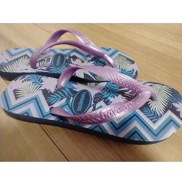 havaianas(ハワイアナス)のhavaianas ハワイアナス ビーチサンダル 未使用品 レディースの靴/シューズ(ビーチサンダル)の商品写真
