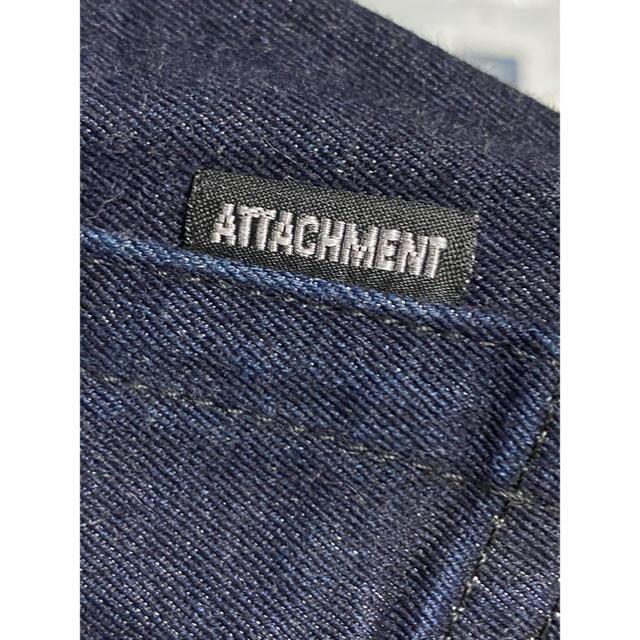 ATTACHIMENT(アタッチメント)のATTACHIMENT アタッチメント30/2ストレッチウエポンスーパースリム メンズのパンツ(デニム/ジーンズ)の商品写真
