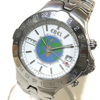 エベル(EBEL)のエベル E9122641 スポーツウェーブ メリディアン GMT 腕時計 SS(腕時計(アナログ))