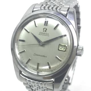 OMEGA - オメガ シーマスター デイト オートマチック 腕時計 SS 自動巻き シルバー