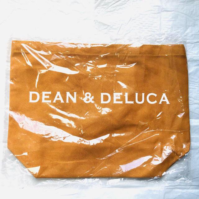 DEAN & DELUCA(ディーンアンドデルーカ)の《新品未使用》 DEAN & DELUCA キャラメルイエロー トートバッグ   レディースのバッグ(トートバッグ)の商品写真