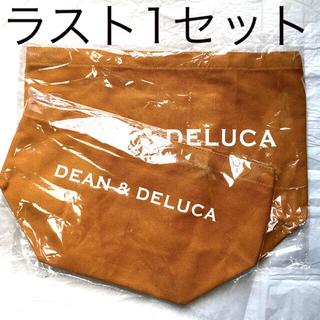 DEAN & DELUCA - 《新品未使用》 DEAN & DELUCA キャラメルイエロー トートバッグ