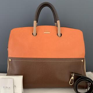 Furla - 【イタリア製・定価5.9万】FURLA   オールレザー 2WAYハンドバッグ