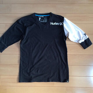 Hurley - ハーレー  七分袖 黒