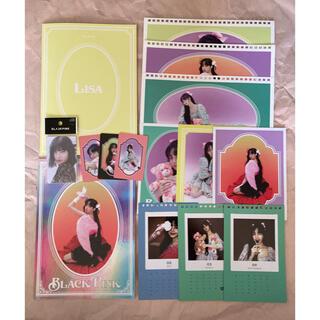 BLACKPINK シーグリ+交通カード リサ 15点セット(アイドルグッズ)