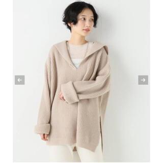 Plage - Plage 新品★ミドルゲージセーラーカラーニットプルオーバー★