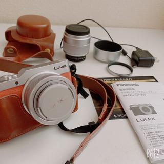 Panasonic - LUMIX GF9 カメラケースとmicroSDカード付き