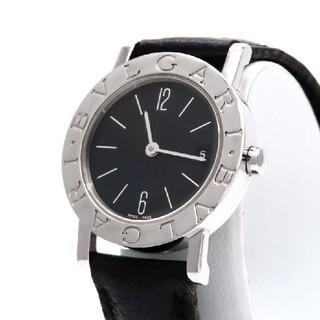 BVLGARI - 【BVLGARI】ブルガリ 時計 'BB26SL' ブラック文字盤 ☆美品☆