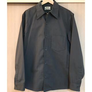 アクネ(ACNE)のacne studios コットンツイル ボクシーフィットシャツ(シャツ)