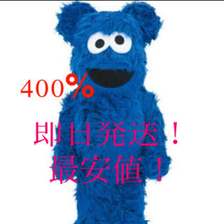 BE@RBRICK COOKIE MONSTER Costume 400%(その他)