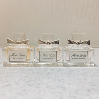 Christian Dior - Dior ミスディオール ミニ香水 3点セット