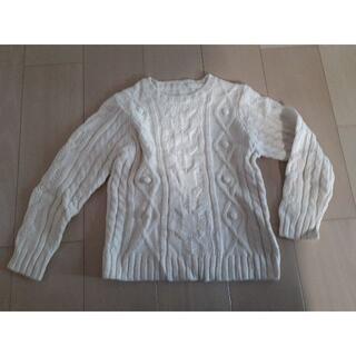 GU - GU ニット セーター 130 冬 防寒