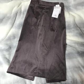 シマムラ(しまむら)のコーデュロイスカート(ひざ丈スカート)