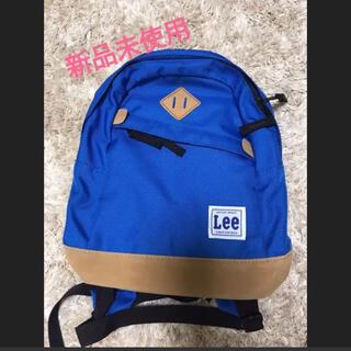 リー(Lee)のLee  キッズ リュック 青色(リュックサック)