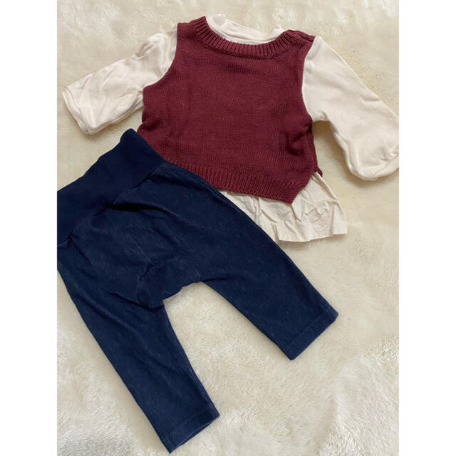 petit main(プティマイン)のプティマイン 70 キッズ/ベビー/マタニティのベビー服(~85cm)(ニット/セーター)の商品写真