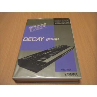 ヤマハ(ヤマハ)のヤマハ DX7Ⅱ VOICE ROM DECAY group VRC-1001(その他)