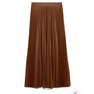 Mila Owen - ❣️新品❣️ MilaOwenミラオーウェンフェイクレザープリーツマキシスカート