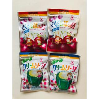 ユーハミカクトウ(UHA味覚糖)のさくらんぼの詩 クリームソーダ 各2袋セット(菓子/デザート)