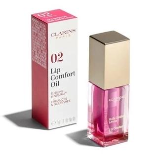 クラランス(CLARINS)の新品未使用品クラランス コンフォート リップオイル02 ラズベリー 7mL(リップグロス)