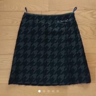 クミキョク(kumikyoku(組曲))のKUMIKYOKU 千鳥格子 スカート(ひざ丈スカート)