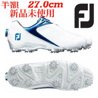 FootJoy - ◇半額 新品未使用◇ FJ スポーツ Boa ゴルフシューズ 27.0cm