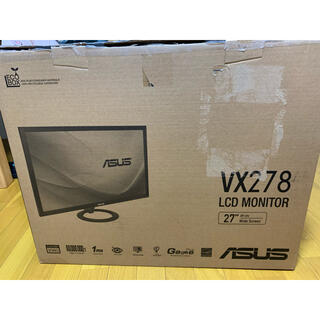 エイスース(ASUS)のモニター27in ASUS VX278 美品(ディスプレイ)