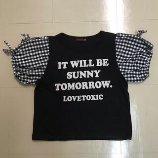 ラブトキシック(lovetoxic)のlovetoxicのTシャツ(Tシャツ/カットソー)