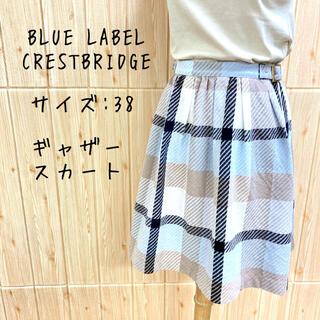 BURBERRY BLUE LABEL - 【BLUE LABEL  CRESTBRIDGE】スカート (M) ツイード