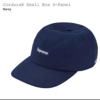 シュプリーム(Supreme)のsupreme cordura small box 6-panel navy(キャップ)
