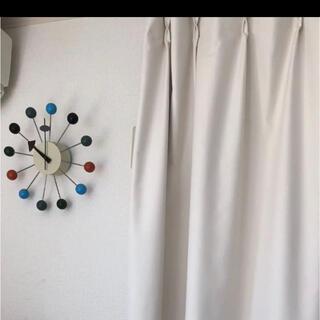 フランフラン(Francfranc)のフランフラン 遮光カーテン 140cm×200cm 白 ホワイト(カーテン)