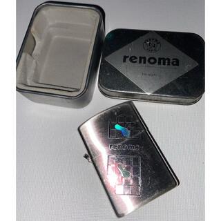 レノマ(RENOMA)のレノマ オイルライター renoma ジッポタイプ used(タバコグッズ)