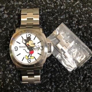 オーバーザストライプス(OVER THE STRIPES)のオーバーザストライプス✩ビームス✩ミッキーコラボ腕時計(腕時計(アナログ))