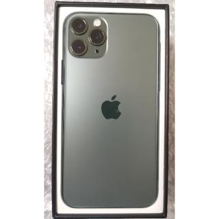 iPhone - iPhone 11 Pro ミッドナイトグリーン 64 GB SIMフリー