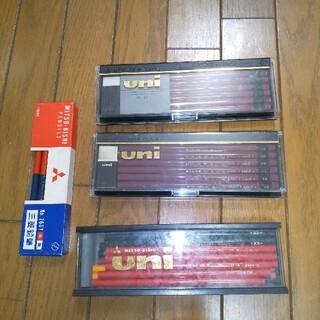 ミツビシ(三菱)の三菱uni 他  全47本(鉛筆)