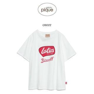 gelato pique - gelato pique ジェラートピケ Lotus ワンポイントTシャツ