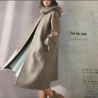 FOXEY - フォクシーファーつき・カシミヤコートブルームーンコート