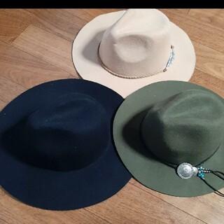 ハット 帽子 3点セット(ハット)